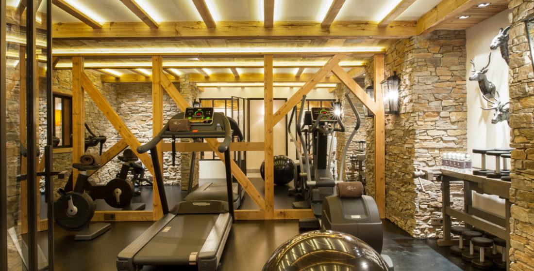Les Bastidons Fitness room